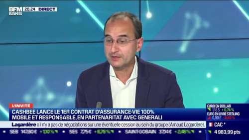 Marc Tempelman (Cashbee) : Cashbee lance le 1er contrat d'assurance-vie 100% mobile et responsable, en partenariat avec Generali - 05/11