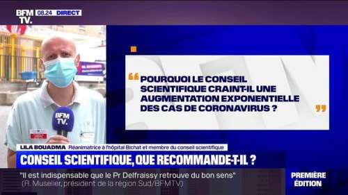 Lila Bouadma (membre du Conseil scientifique):
