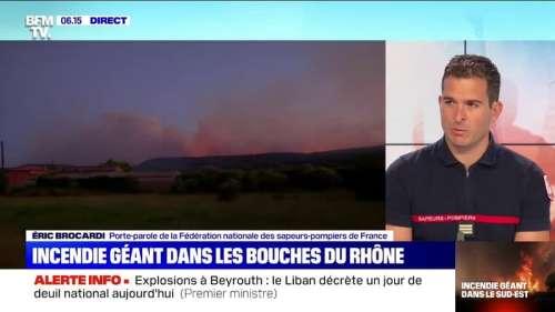 Incendie à Martigues: les pompiers ont évacué