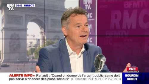 Fabien Roussel face à Jean-Jacques Bourdin en direct - 23/06