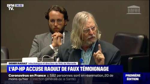 Le directeur général de l'AP-HP accuse Didier Raoult de faux témoignage