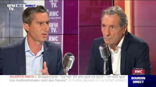 François Ruffin face à Jean-Jacques Bourdin en direct - 17/09