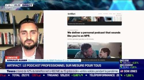 Arnaud Auger (BNP Paribas) : Artifact, le podcast professionnel sur mesure pour tous - 07/10