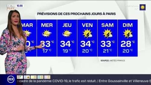Une vague de chaleur attendue en Ile-de-France cette semaine, jusqu'à 34°C à Paris