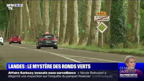 Qui se cache derrière les mystérieux ronds verts qui apparaissent un peu partout en France ?