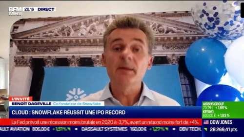 Benoît Dageville (Snowflake) : Snowflake réussit une IPO record - 16/09