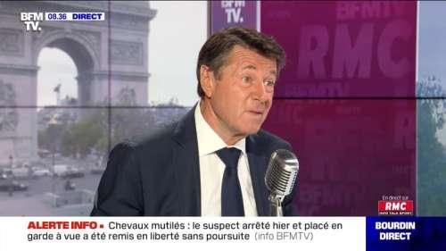 Christian Estrosi face à Jean-Jacques Bourdin en direct - 08/09