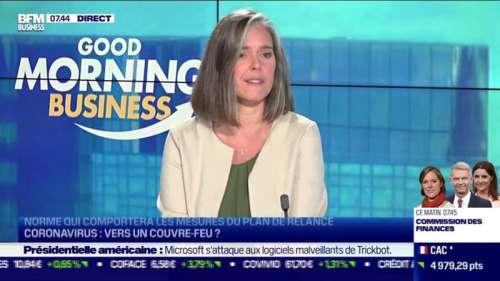 Cendra Motin (Comission des finances) : Coronavirus, vers un couvre-feu ? - 13/10