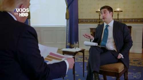 En pleine interview, un journaliste confronte Donald Trump à ses statistiques sur les victimes du Covid-19 aux États-Unis