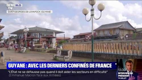 Coupés du monde depuis 120 jours, les habitants de Saint-Georges-de-l'Oyapock en Guyane sont toujours confinés
