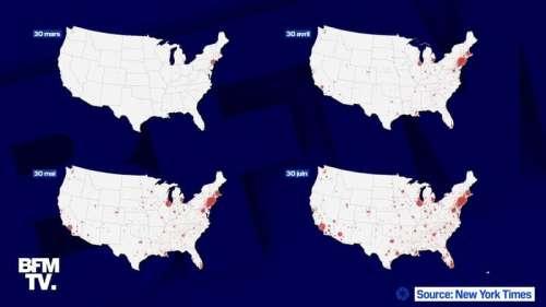 États-Unis: vers une deuxième vague encore plus forte ?
