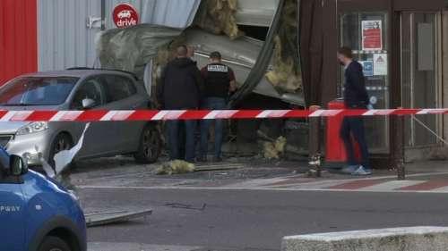 Distributeur de billets visé par une explosion dans les Yvelines: un suspect mis en examen et écroué