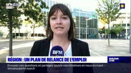 Auvergne-Rhône-Alpes: la région vote ce mercredi un plan de relance de l'emploi