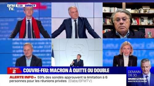 Story 2 : Couvre-feu, Macron à quitte ou double - 15/10