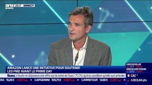 Patrick Labarre (Amazon France): Amazon lance une initiative pour soutenir les PME avant le Prime Day - 30/09