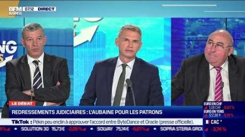 Le débat : Redressements judiciaires, l'aubaine pour les patrons, par Emmanuel Lechypre et Nicolas Doze - 22/09
