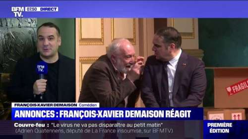 François Xavier Demaison sur le couvre-feu à 21h: