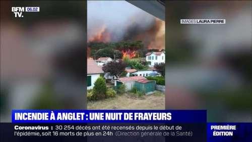 Un incendie à Anglet ravage la forêt de Chiberta dans les Pyrénées-Atlantiques