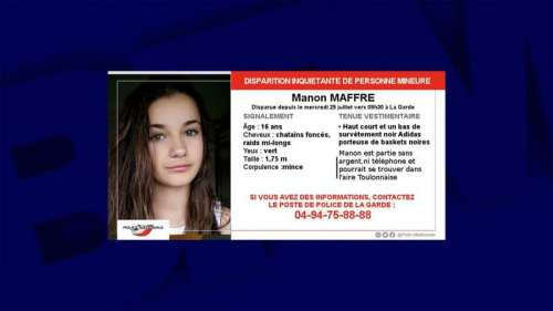 Var: la gendarmerie lance un appel à témoins après la disparition inquiétante d'une adolescente
