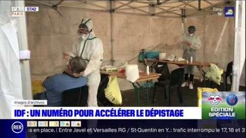 Covid-19: l'ARS d'Ile-de-France lance un numéro pour faciliter l'accès aux dépistages