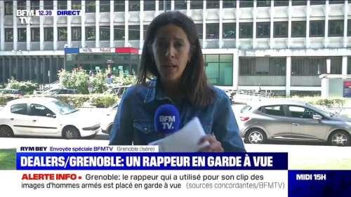 Vidéos de dealers armés à Grenoble: le rappeur du clip a été placé en garde à vue