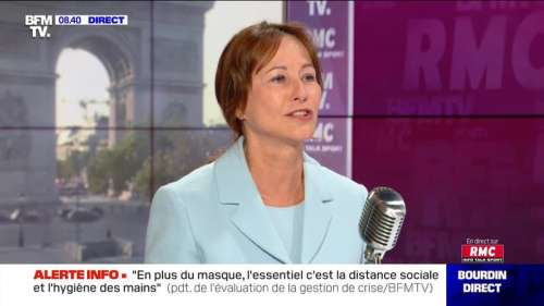 Ségolène Royal face à Jean-Jacques Bourdin en direct  - 18/09