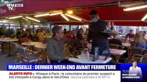 À Marseille, un dernier week-end pour les bars et restaurants avant la fermeture dimanche soir