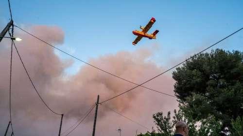 Près de 850 hectares ravagés par un incendie à Martigues