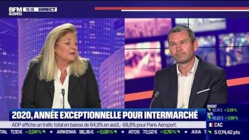 Thierry Cotillard (Intermarché) : 2020, année exceptionnelle pour Intermarché - 16/09
