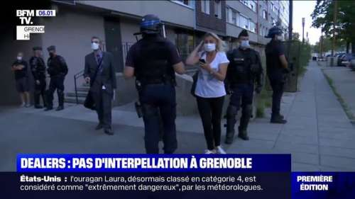 Trafic de drogue: une opération de police ce mercredi dans le quartier du Mistral à Grenoble, mais pas d'interpellation