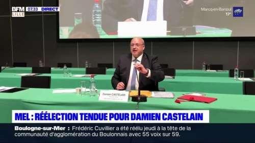 Déménagement de la MEL: à peine réélu, Damien Castelain critiqué par la Cour des comptes