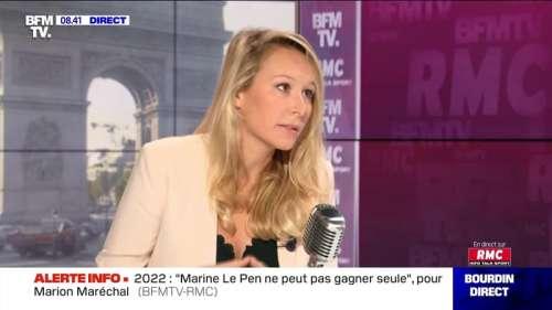 Marion Maréchal face à Jean-Jacques Bourdin en direct - 15/09
