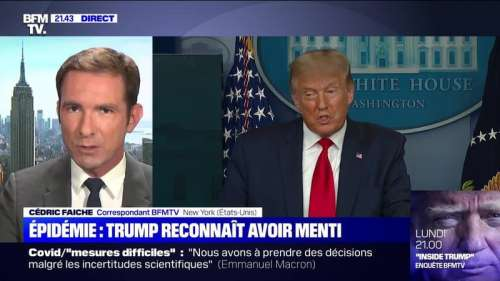 Covid : Donald Trump a-t-il menti ? - 10/09