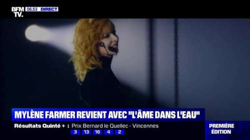 Mylène Farmer de retour avec un nouveau single intitulé