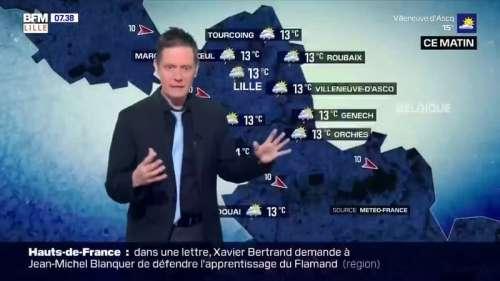 Météo à Lille: un samedi matin pluvieux avant l'arrivée d'éclaircies, jusqu'à 20°C cet après-midi