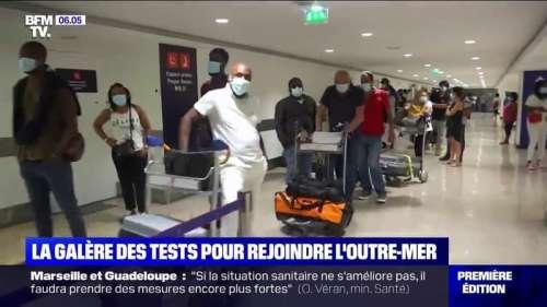 Coronavirus: la galère des voyageurs vers l'Outre-mer pour obtenir un test en moins de 72h