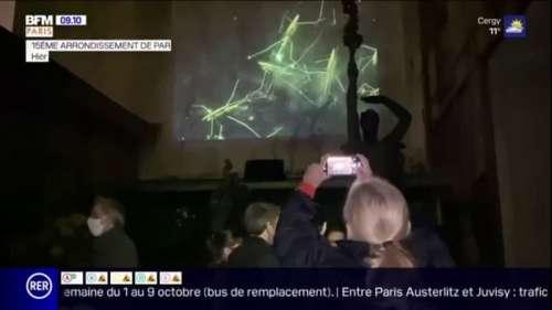 Nuit Blanche: les Parisiens ont répondu présents malgré une offre réduite en raison du Covid-19