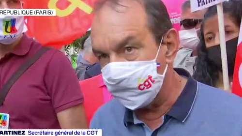 Philippe Martinez (CGT) juge