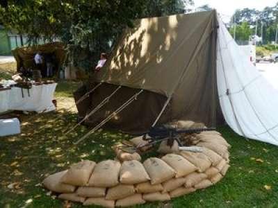 Carmaux. Reconstitution de camps maquisards et américains