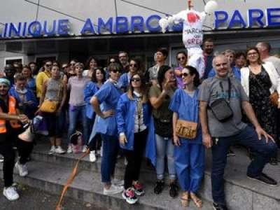 Hôpitaux  : l'épidémie de grève gagne le privé à Toulouse
