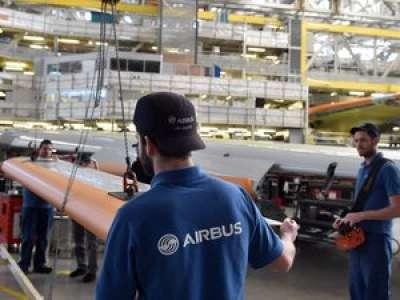 Coronavirus : Airbus va recourir au chômage partiel pour ses usines françaises