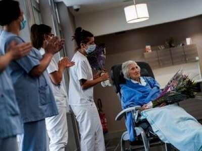 À 100 ans, elle guérit du Covid
