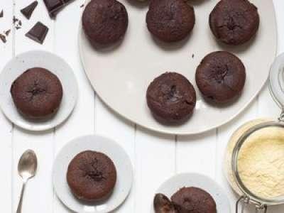 Recette : Fondant au chocolat à la farine de maïs