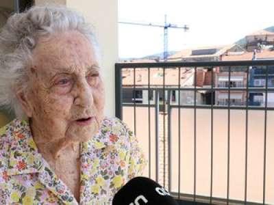 À 113 ans, la doyenne d'Espagne survit au coronavirus