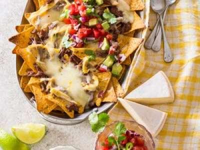 Recette : Super nachos au reblochon