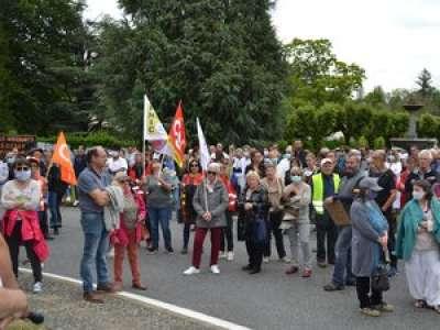 Lannemezan. Une forte mobilisation pour l'hôpital public