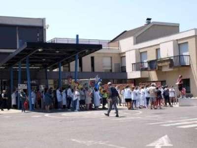 Saint-Céré. La mobilisation des soignants ne faiblit pas à l'hôpital