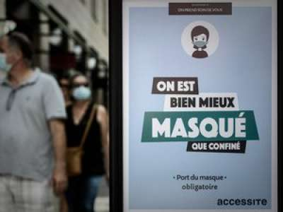 Coronavirus: masque obligatoire dans certaines zones à Paris et sa région