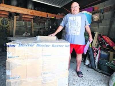 Tarn-et-Garonne : il essaye désespérément de rendre une palette de matériel médical de 3000 €