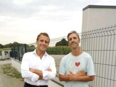 Montgaillard. Une rencontre inattendue avec le président de la République Emmanuel Macron